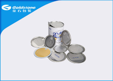 Metal Can Packaging Easy Peel Off Open Ends BPA Free Health Performance