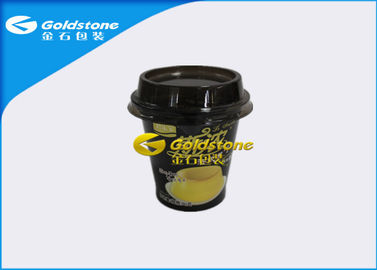 চীন High End Deluxe Plastic Yogurt Cups With Inmold Label Or Shrink Sleeve পরিবেশক