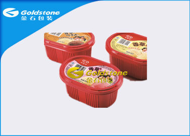 চীন Colorful Printed Disposable Plastic Yogurt Cups Injection / Thermo Forming Type পরিবেশক